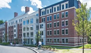 Stonehill College New Residence Hall, Easton, MA